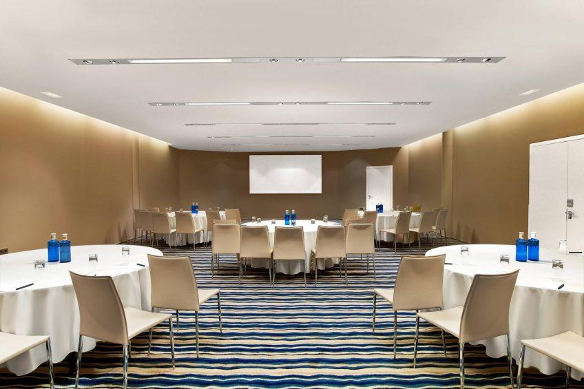 W Barcelona Luxury Hotel - Barcelona, Spain - Studio Meeting Rooms Set Up
