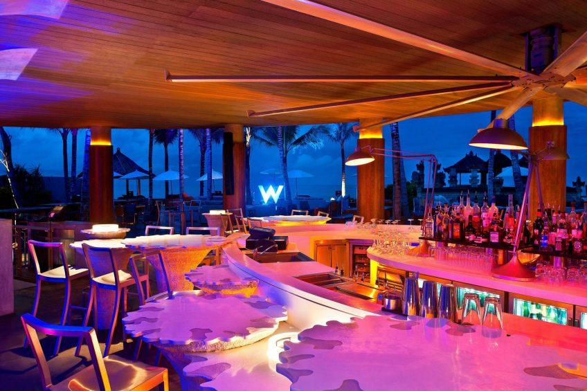 W Bali Seminyak Luxury Resort - Seminyak, Indonesia - WooBar Lounge