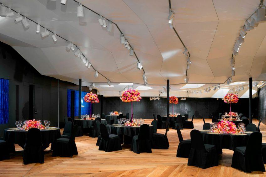 W Amsterdam Luxury Hotel - Amsterdam, Netherlands - Great Room Banquet
