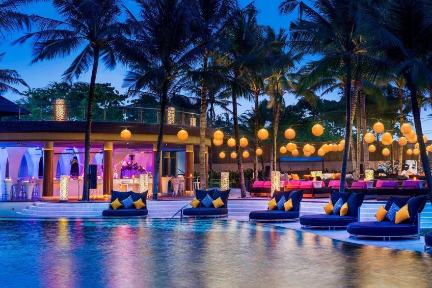W Bali Seminyak Luxury Resort - Seminyak, Indonesia - Woobar Poolside