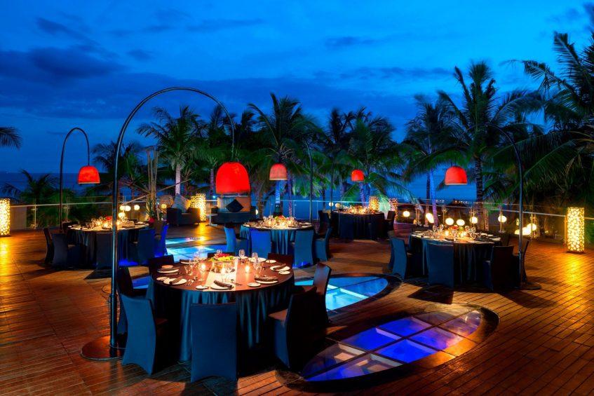 W Bali Seminyak Luxury Resort - Seminyak, Indonesia - Woosky Dining Area