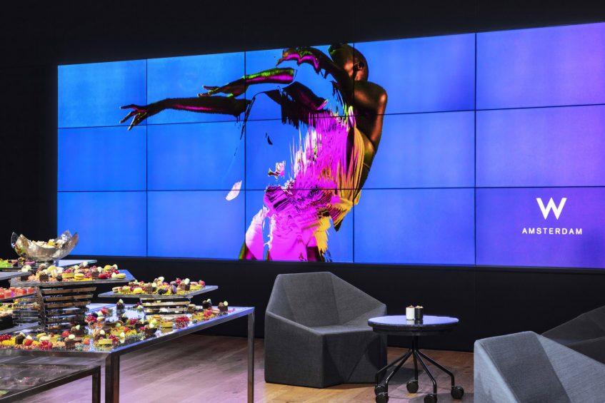 W Amsterdam Luxury Hotel - Amsterdam, Netherlands - Great Room 2 Video Wall
