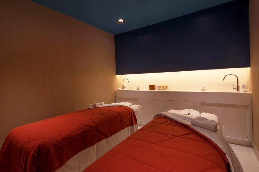 W Barcelona Luxury Hotel - Barcelona, Spain - Spa Treatment Tables