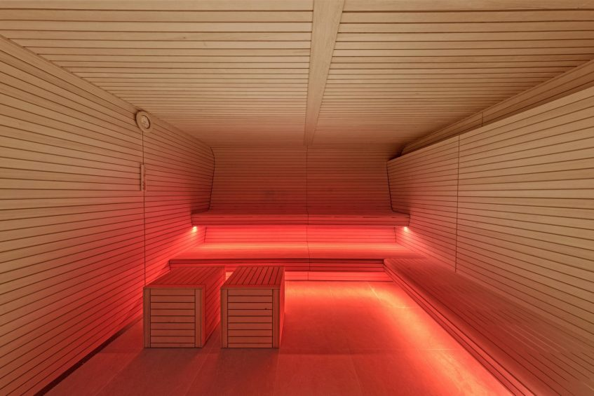 W Barcelona Luxury Hotel - Barcelona, Spain - Spa Sauna