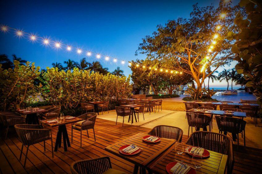 W Punta de Mita Luxury Resort - Punta De Mita, Mexico - Spice Market Restaurant Patio