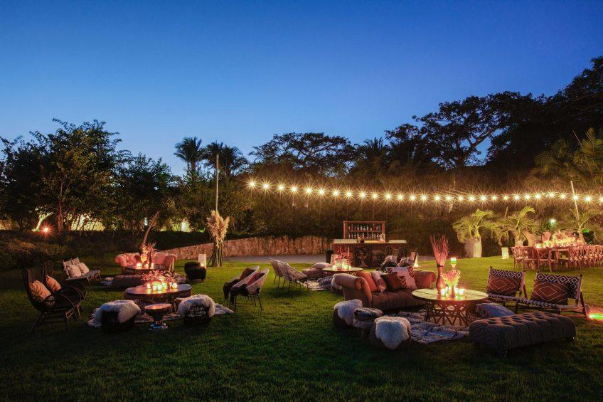 W Punta de Mita Luxury Resort - Punta De Mita, Mexico - Garden Plaza Reception Setup