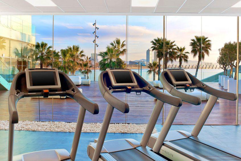 W Barcelona Luxury Hotel - Barcelona, Spain - FIT Treadmills