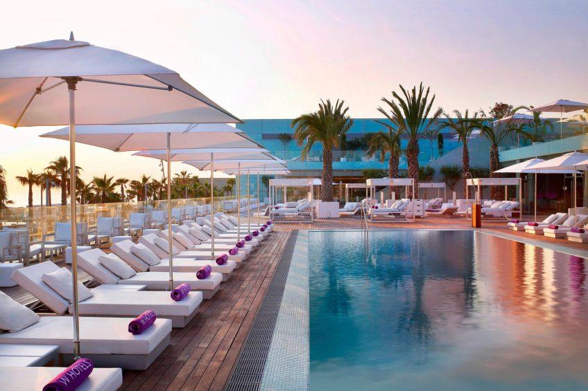 W Barcelona Luxury Hotel - Barcelona, Spain - WET Deck