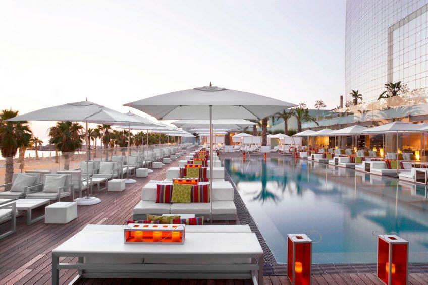 W Barcelona Luxury Hotel - Barcelona, Spain - WET Bar