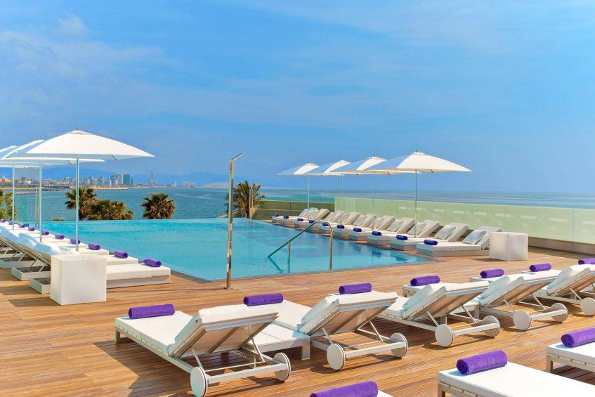 W Barcelona Luxury Hotel - Barcelona, Spain - Sun Deck and Terrace