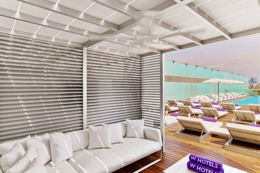 W Barcelona Luxury Hotel - Barcelona, Spain - WOW Cabana