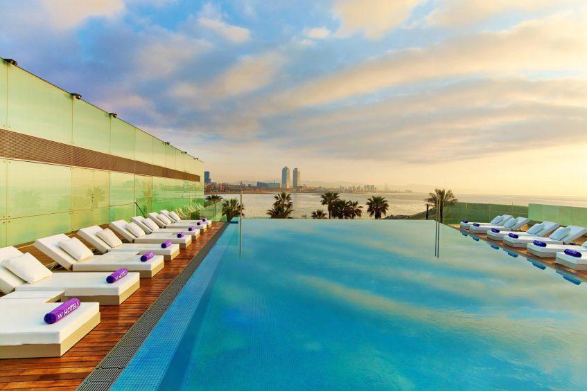 W Barcelona Luxury Hotel - Barcelona, Spain - Sun Deck