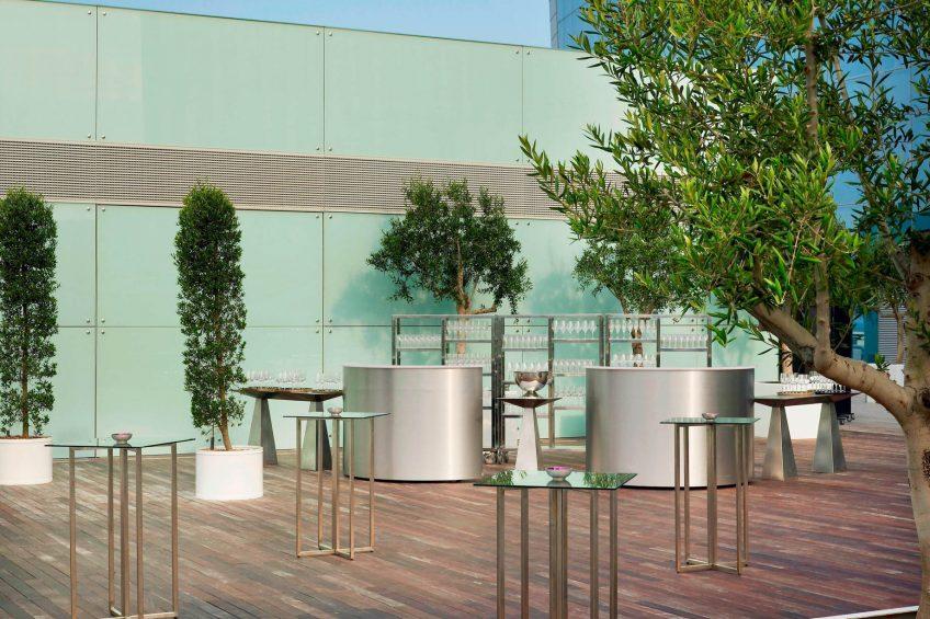 W Barcelona Luxury Hotel - Barcelona, Spain - Altitude Terrace