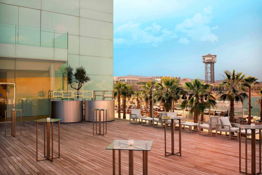 W Barcelona Luxury Hotel - Barcelona, Spain - Great Room Terrace