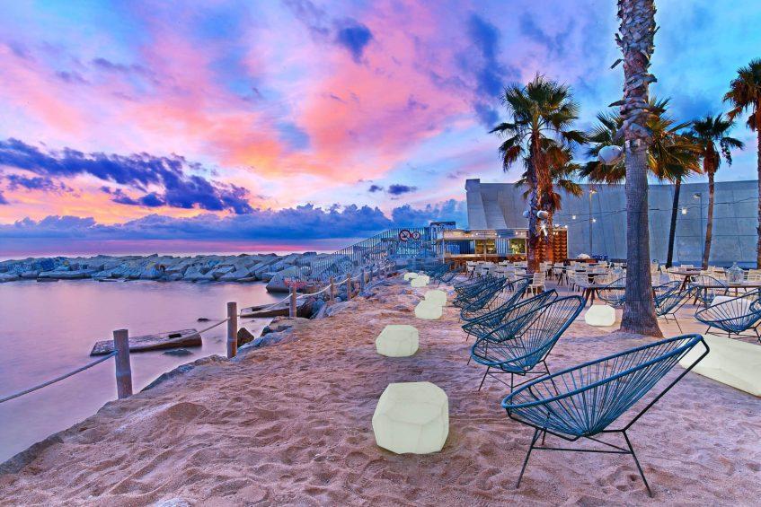 W Barcelona Luxury Hotel - Barcelona, Spain - Salt Beach Club