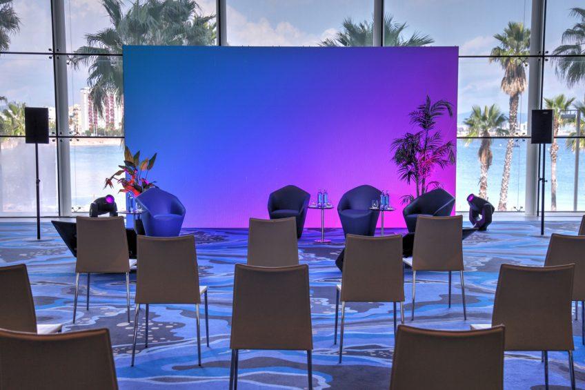 W Barcelona Luxury Hotel - Barcelona, Spain - Greatroom Hybrid Meeting