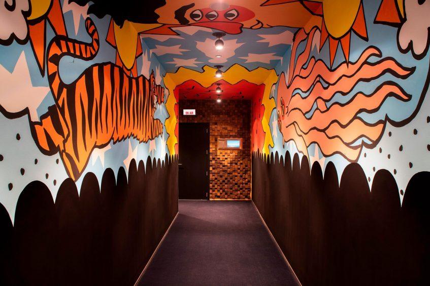 W Barcelona Luxury Hotel - Barcelona, Spain - W Sound Suite Hallway