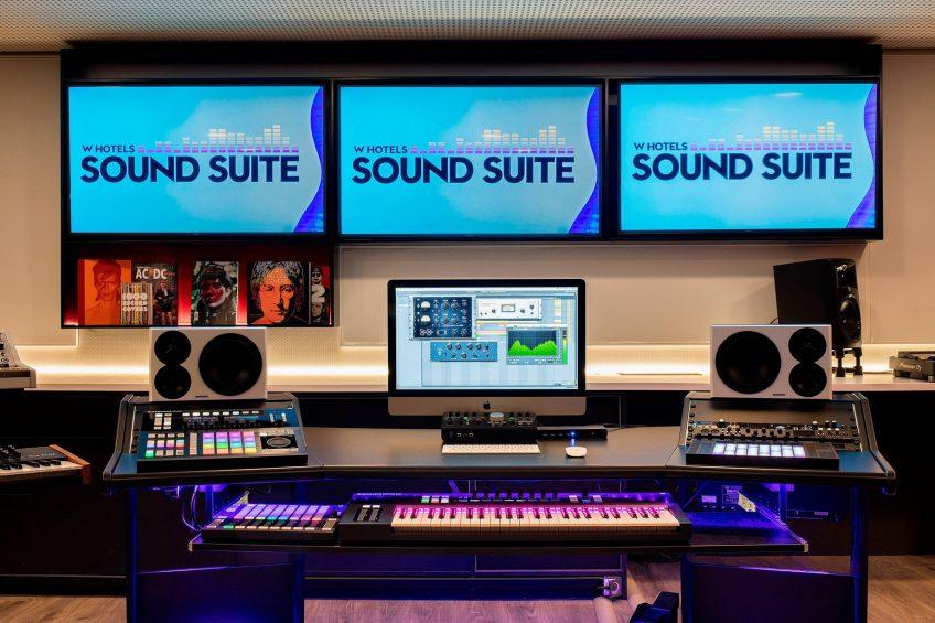 W Barcelona Luxury Hotel - Barcelona, Spain - W Sound Suite Electronics