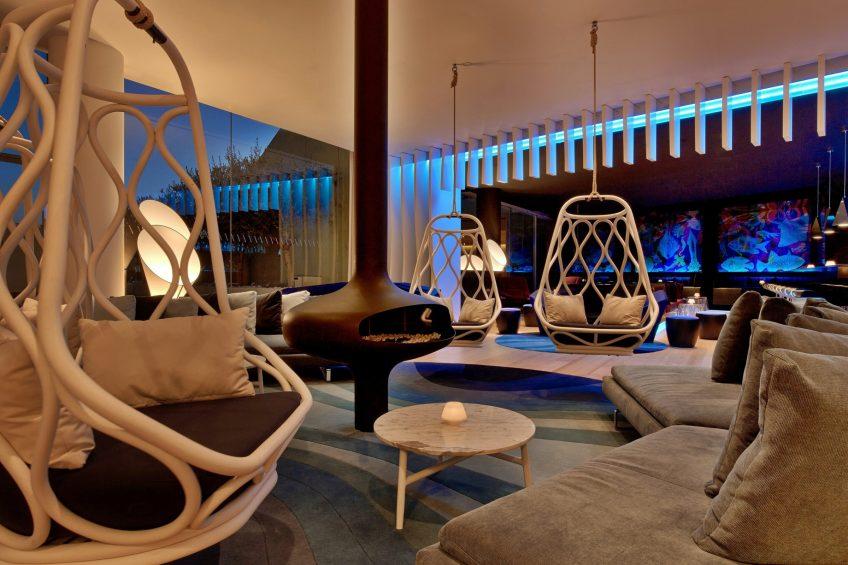 W Barcelona Luxury Hotel - Barcelona, Spain - W Lounge and W Bar