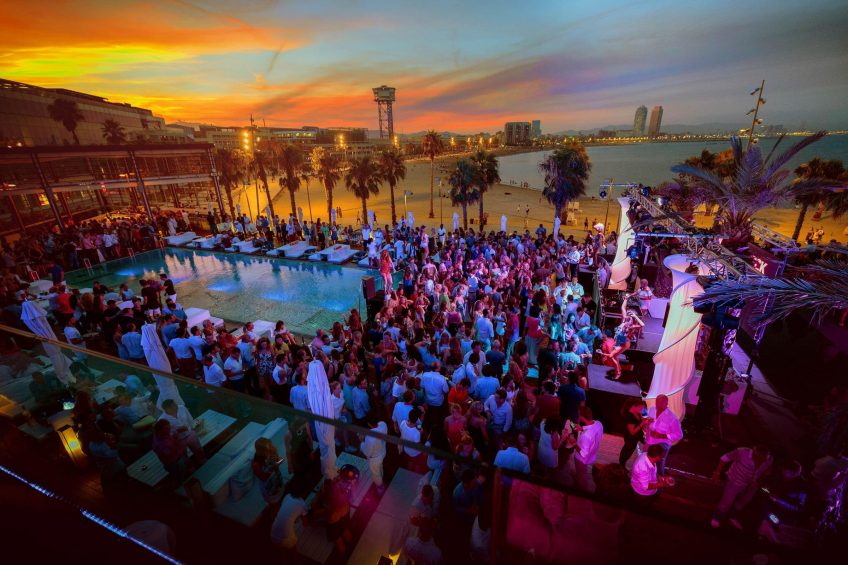 W Barcelona Luxury Hotel - Barcelona, Spain - WET Deck Summer Series