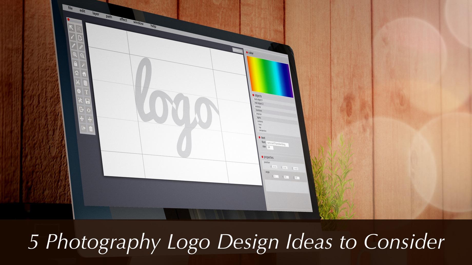 5 Photography Logo Design Ideas to Consider