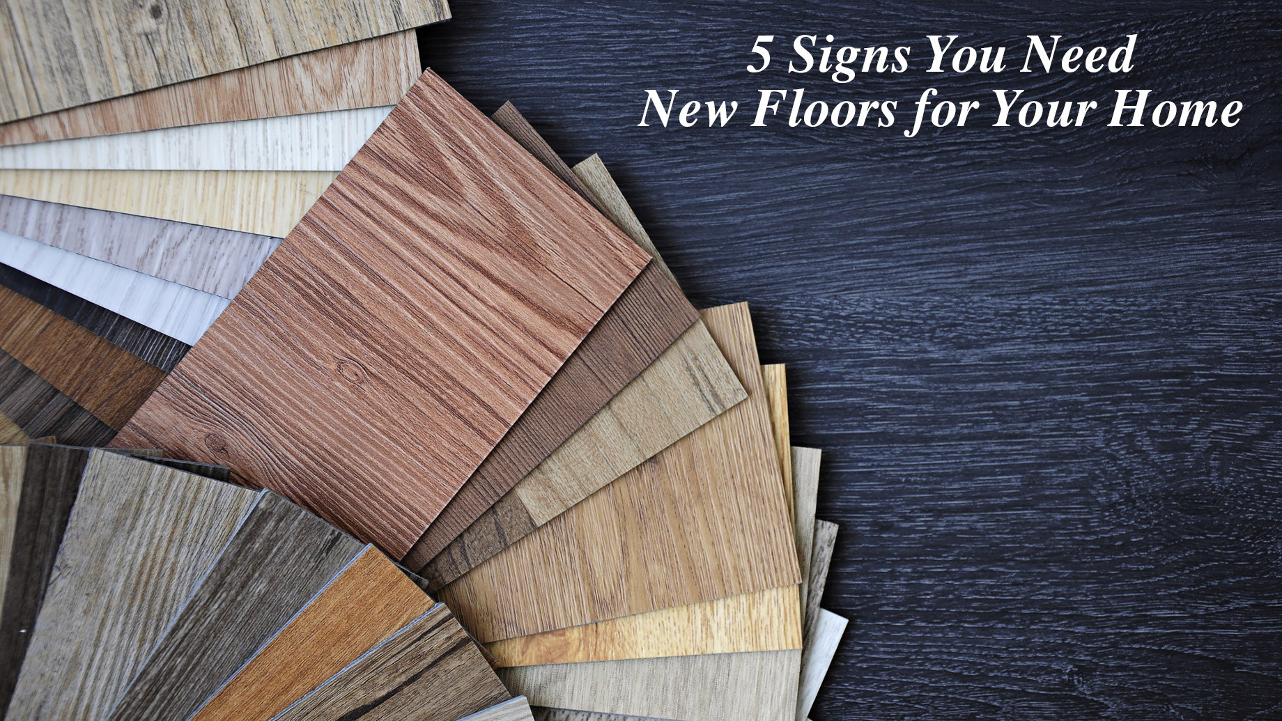 5 Signs You Need New Floors for Your Home