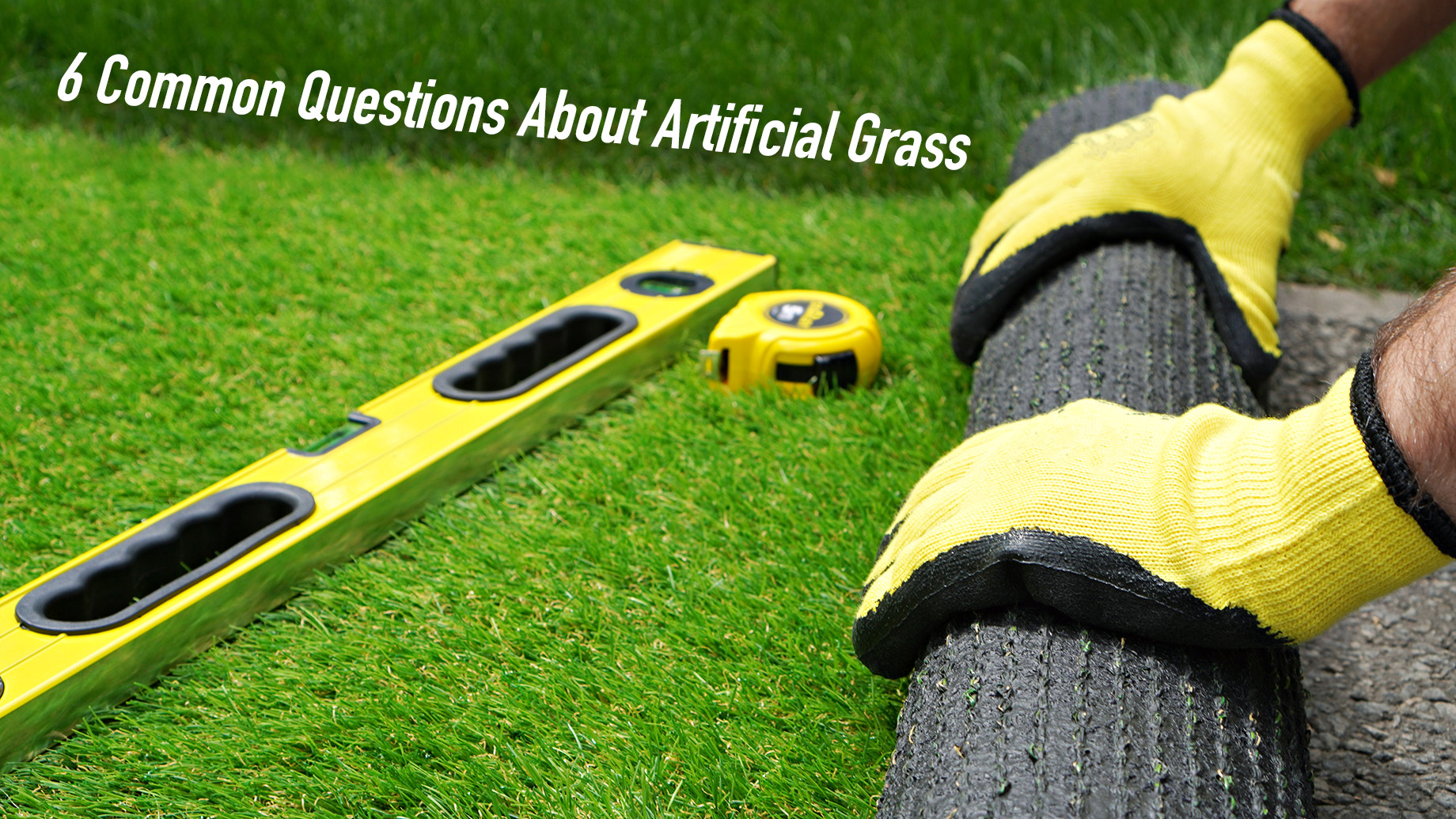 6 Common Questions About Artificial Grass
