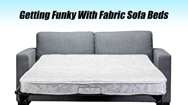 Home Talk - Getting Funky With Fabric Sofa Beds