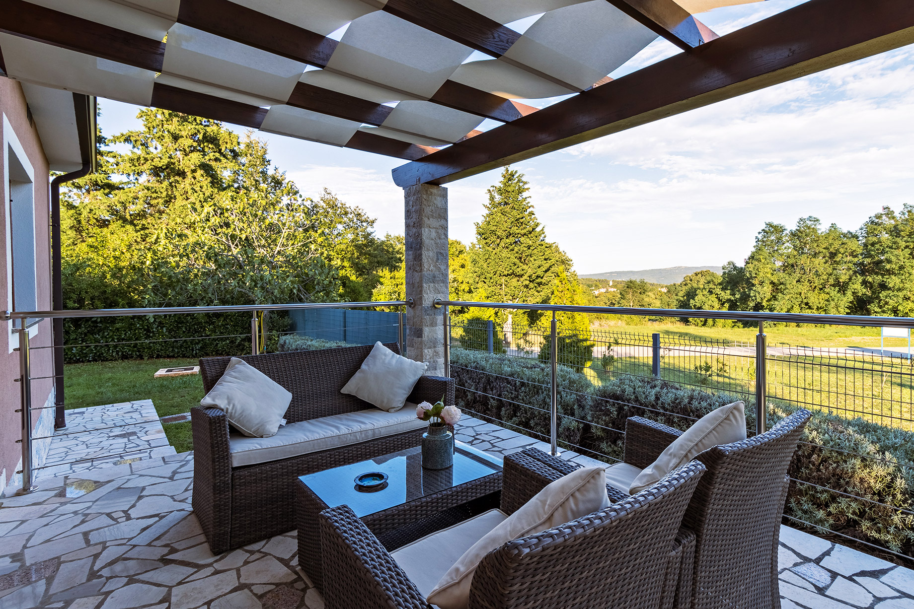 Patio with Greenbelt Views