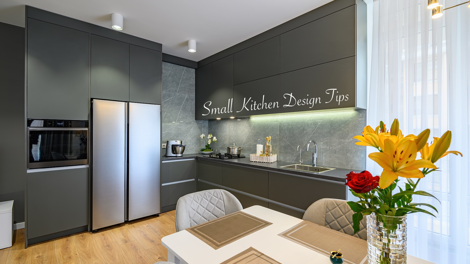 Small Kitchen Design Tips - Ideas to Make the Most of Your Space