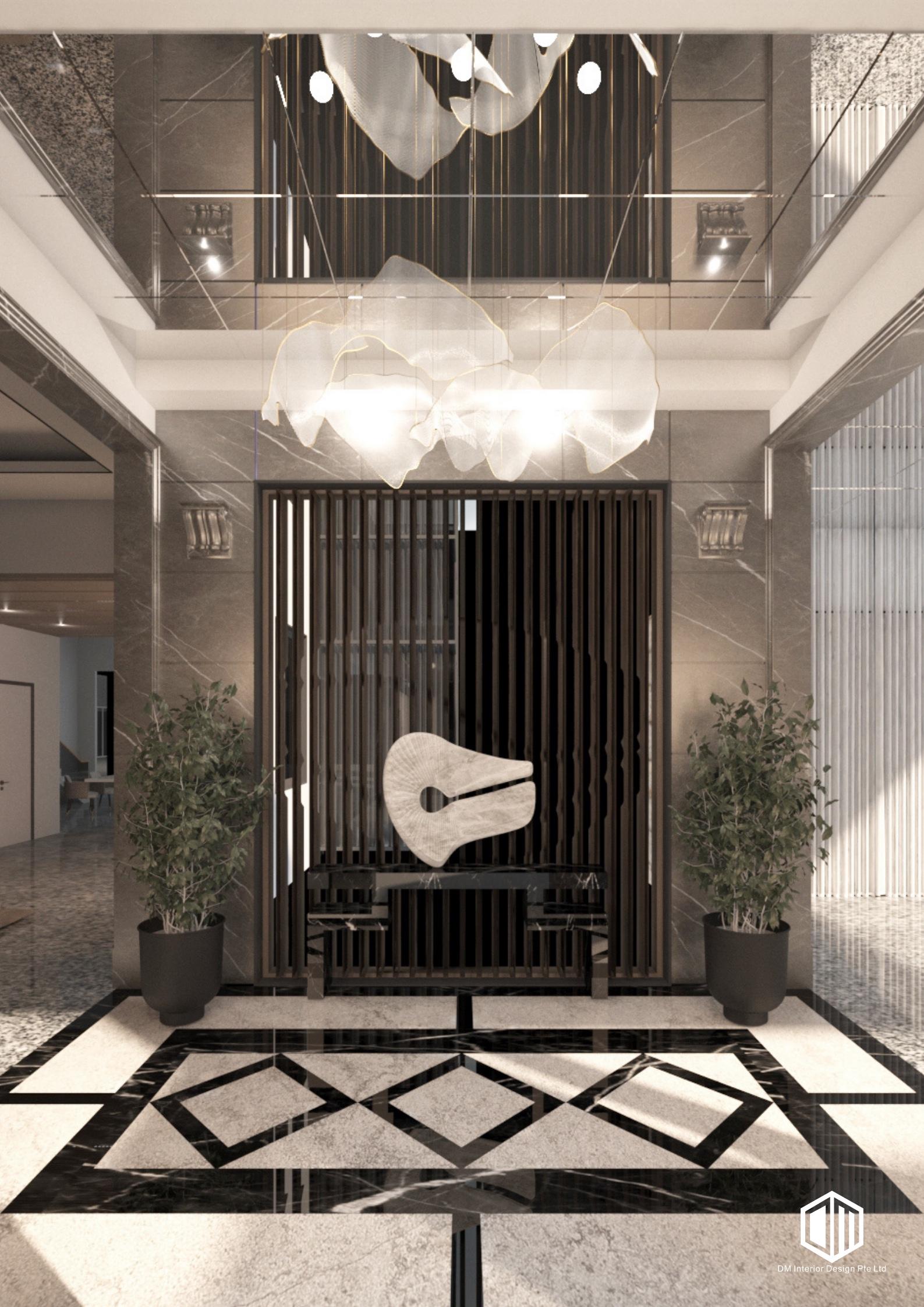 DM Interior Design – The Good Class Bungalow Elite Residential Project – Singapore