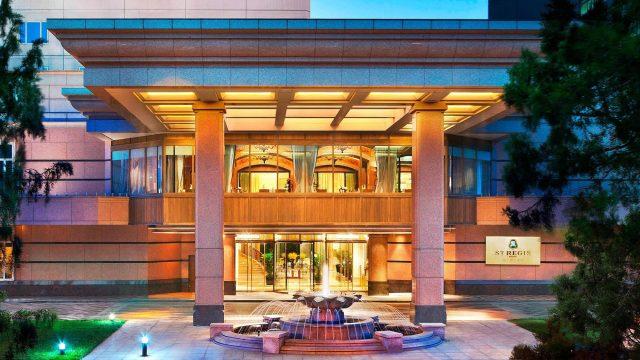 The St. Regis Beijing Luxury Hotel - Beijing, China - Hotel Exterior