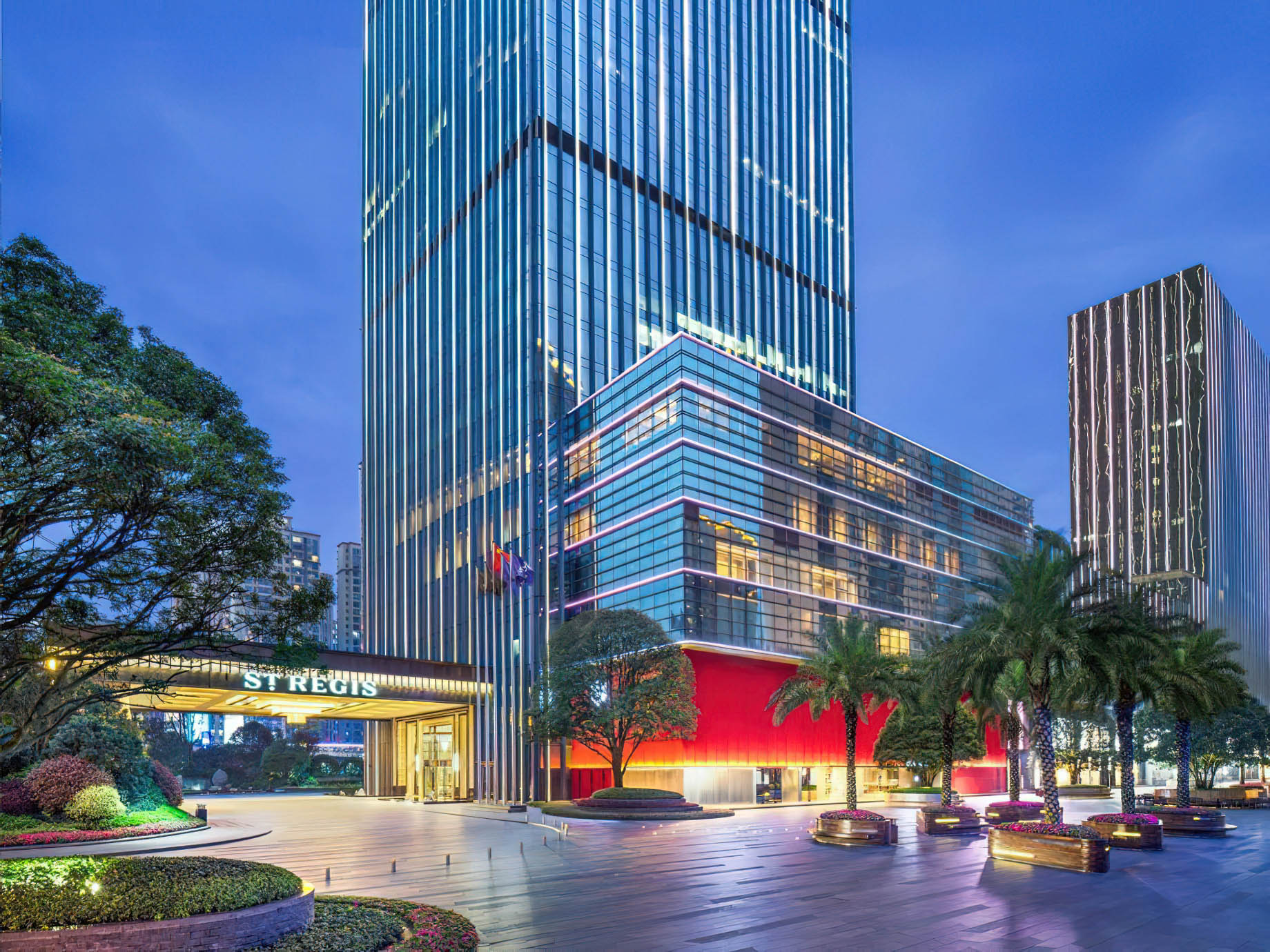 The St. Regis Changsha Luxury Hotel - Changsha, China - Hotel Exterior