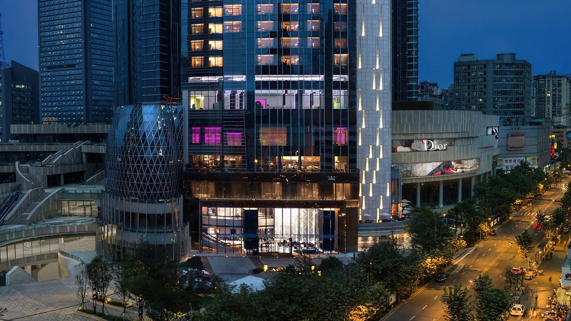 The St. Regis Chengdu Luxury Hotel - Chengdu, Sichuan, China - Hotel Exterior