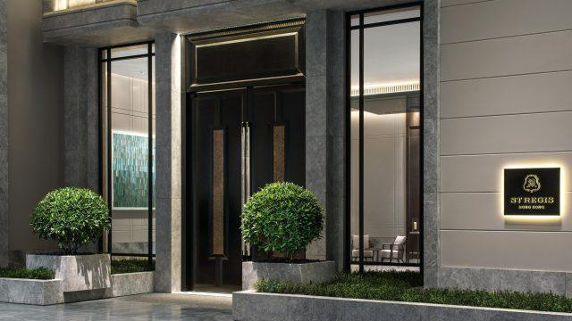 The St. Regis Hong Kong Luxury Hotel - Wan Chai, Hong Kong - Hotel Entrance
