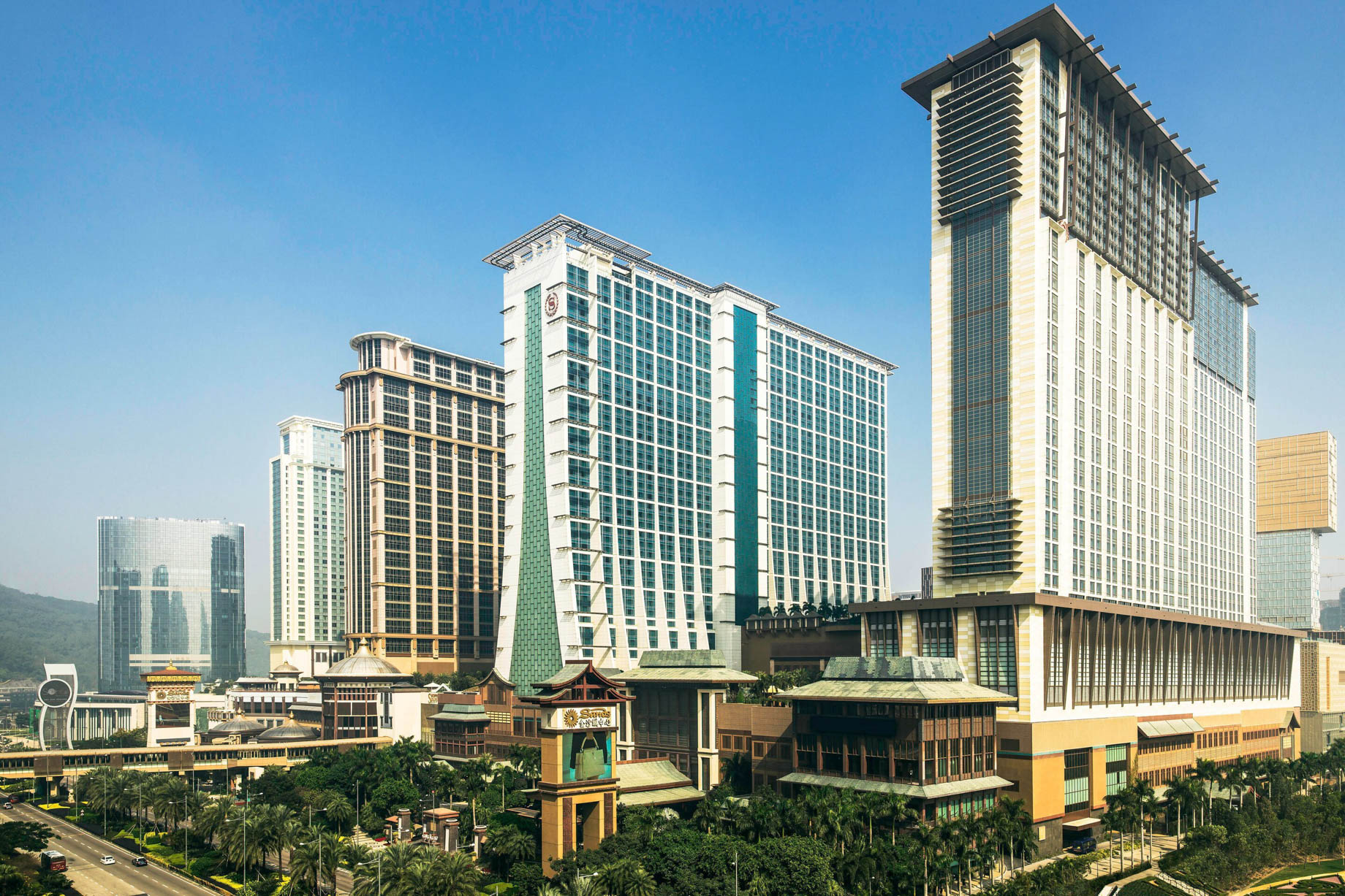 The St. Regis Macao Luxury Hotel - Cotai, Macau SAR, China - Hotel Exterior View