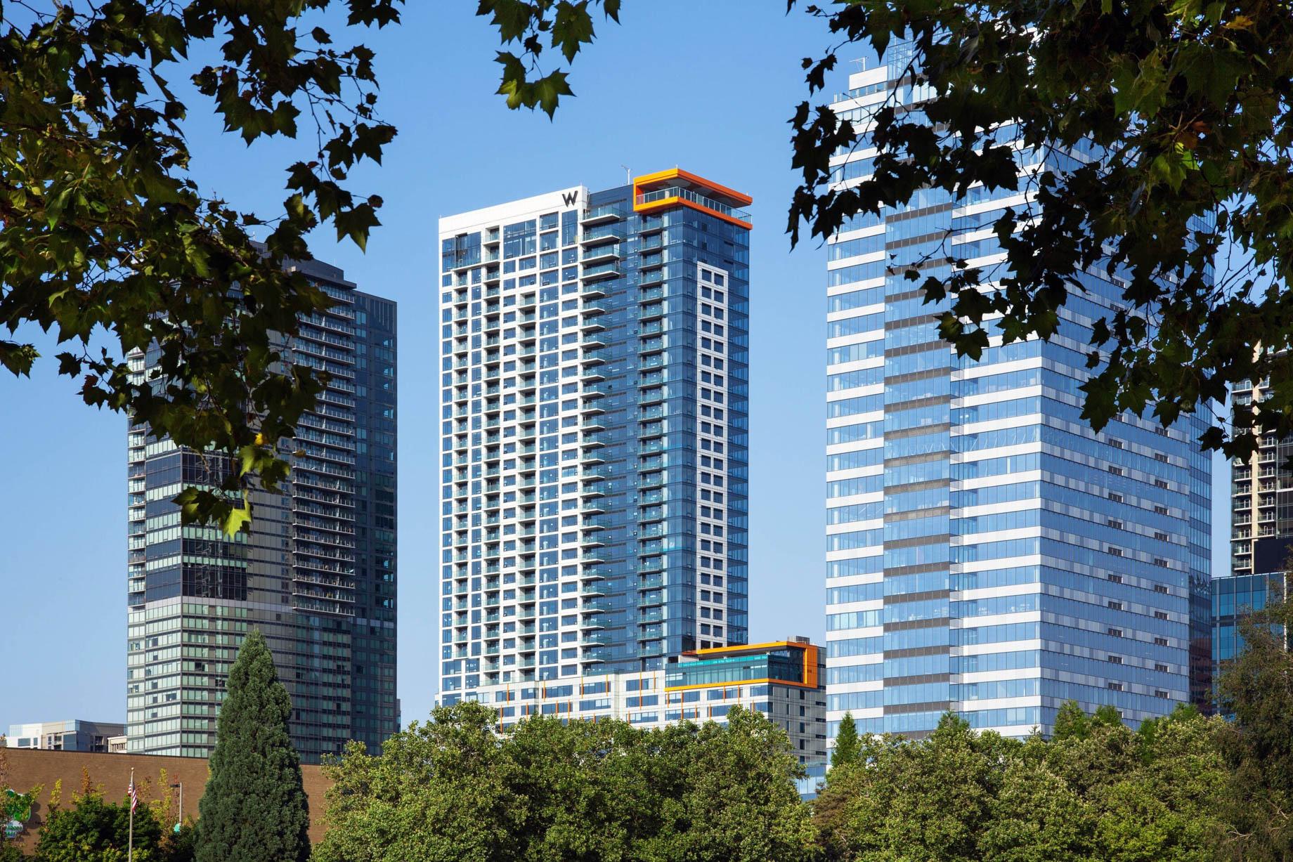 W Bellevue Luxury Hotel - Bellevue, WA, USA - Hotel Exterior