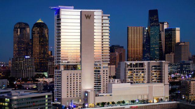 W Dallas Victory Luxury Hotel - Dallas, TX, USA - Hotel Exterior