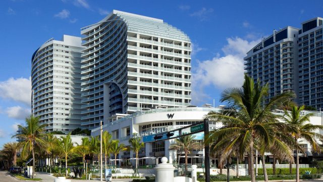W Fort Lauderdale Luxury Hotel - Fort Lauderdale, FL, USA - Hotel Exterior