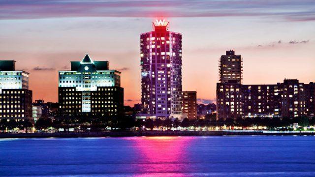 W Hoboken Luxury Hotel - Hoboken, NJ, USA - Hotel Exterior Water View