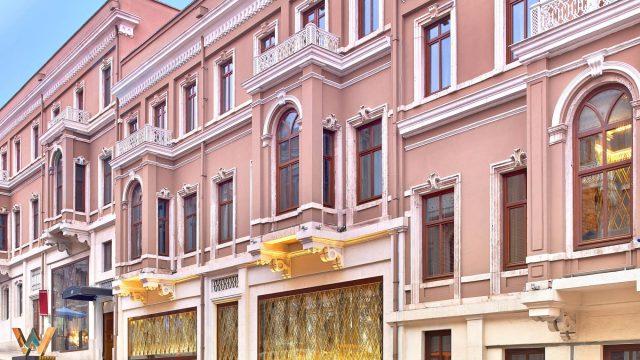 W Istanbul Luxury Hotel - Istanbul, Turkey - Hotel Exterior