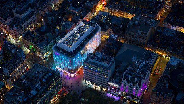 W London Luxury Hotel - London, United Kingdom - Hotel Aerial Night City View