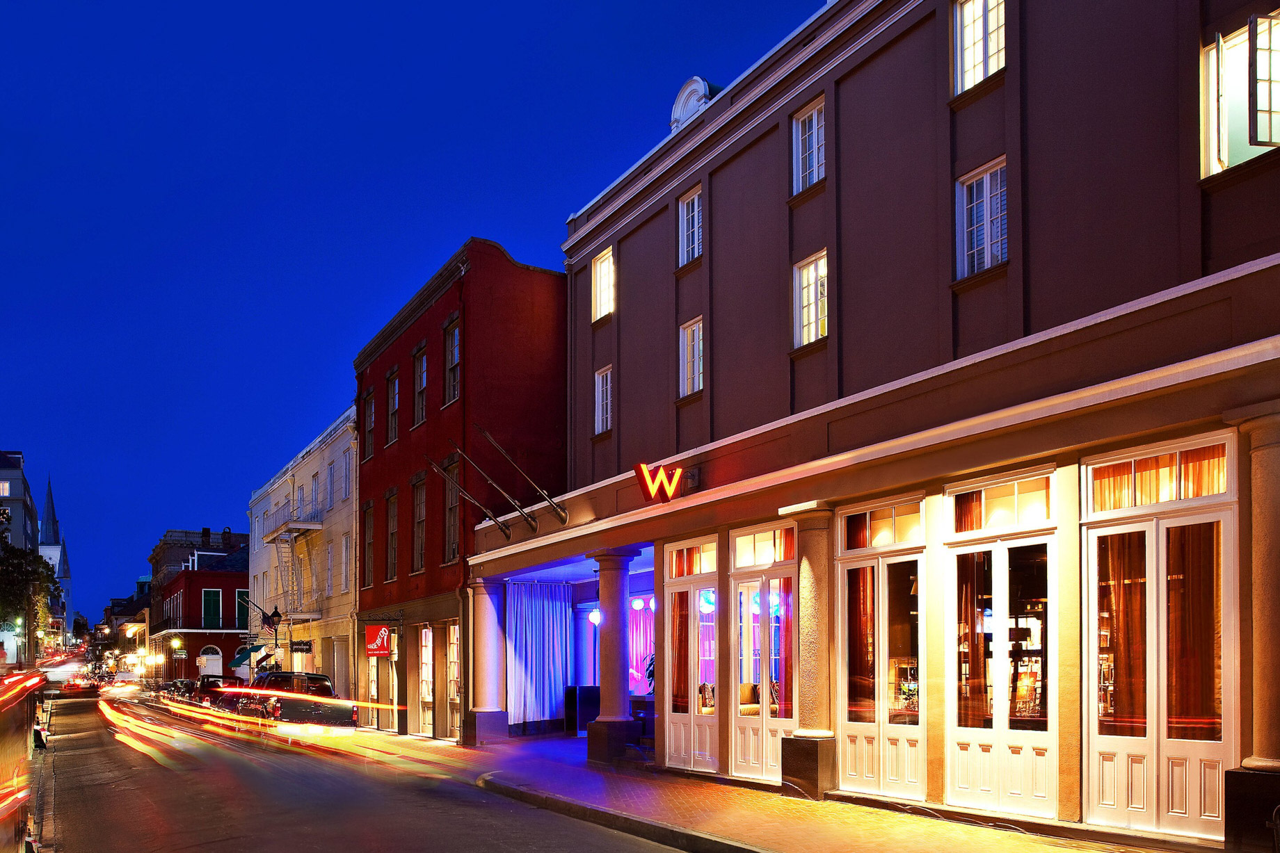 W New Orleans French Quarter Luxury Hotel - New Orleans, LA, USA - W New Orleans French Quarter