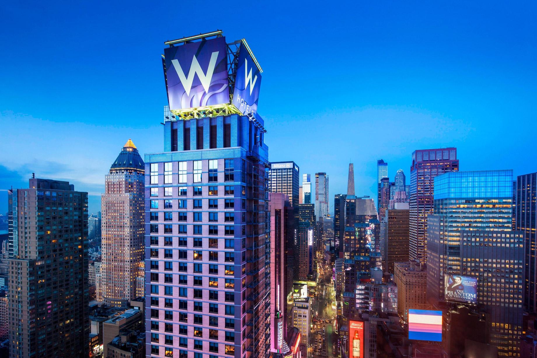 W New York Times Square Luxury Hotel - New York, NY, USA - W New York