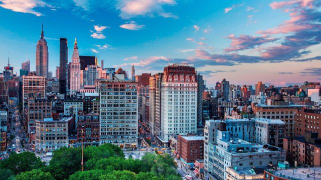 W New York Union Square Luxury Hotel - New York, NY, USA - Hotel Exterior View