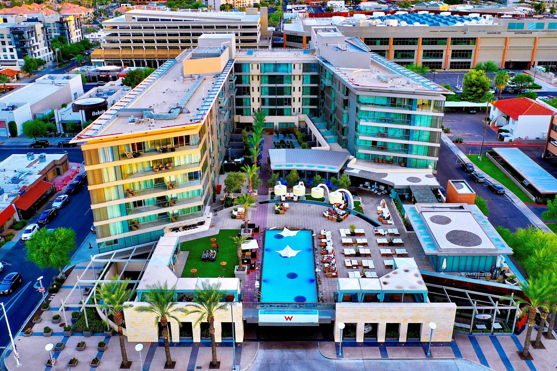 W Scottsdale Luxury Hotel - Scottsdale, AZ, USA - Hotel Exterior