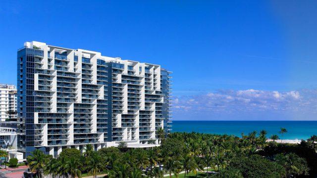 W South Beach Luxury Hotel - Miami Beach, FL, USA - W South Beach Exterior Ocean View