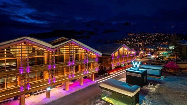 W Verbier Luxury Hotel - Verbier, Switzerland - Hotel Exterior