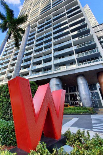 W Miami Luxury Hotel - Miami, FL, USA - Exterior