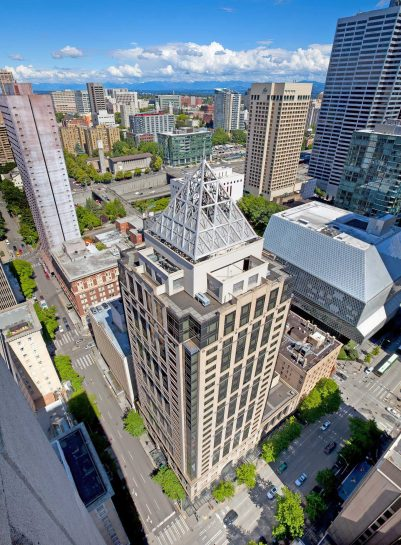 W Seattle Luxury Hotel - Seattle, WA, USA - W Seattle Aerial View